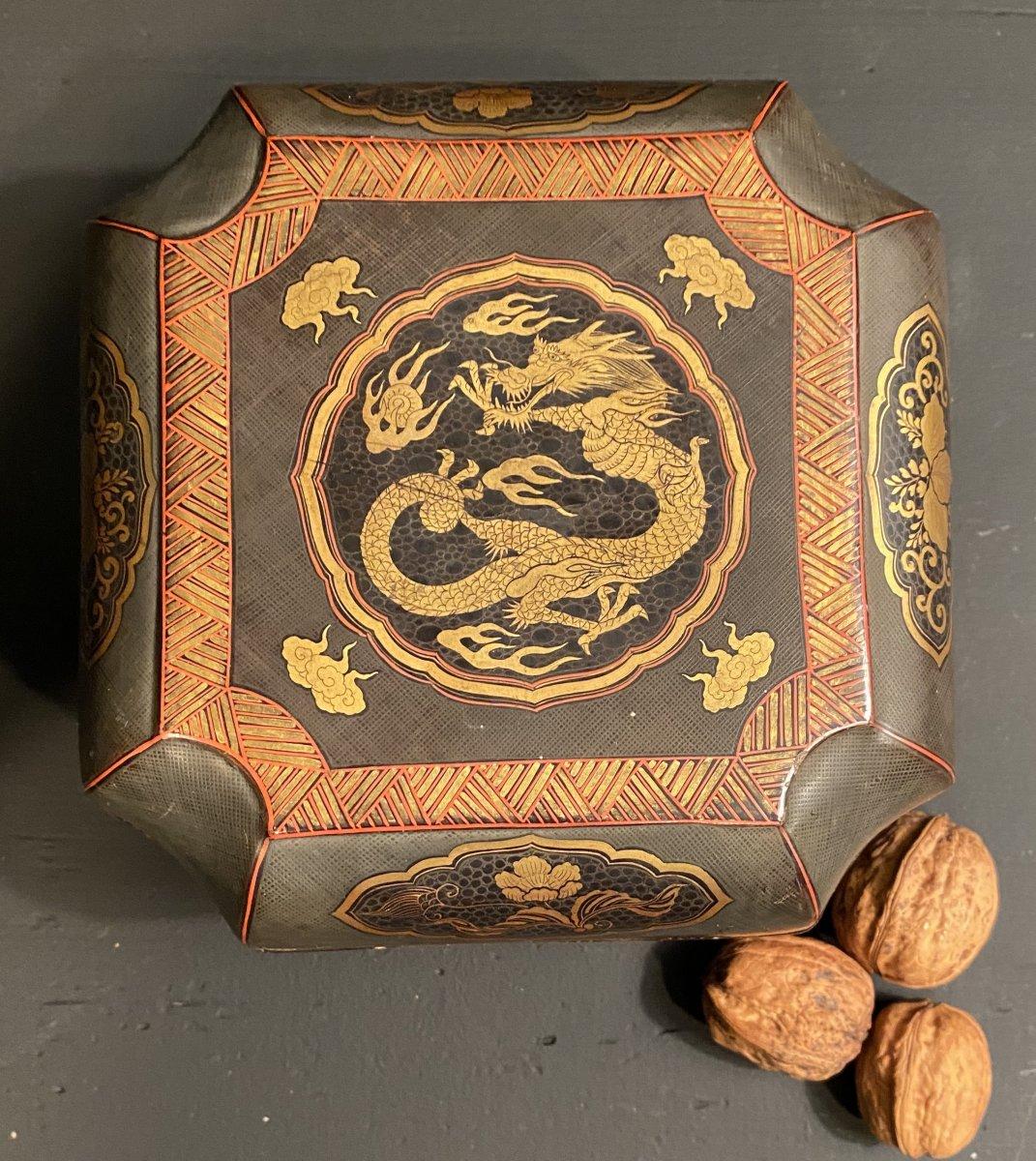 Boite Asiatique En Céramique