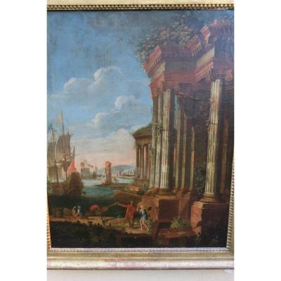 Ruines à l'Antique
