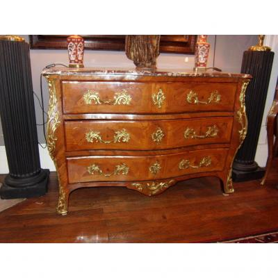 Inlaid Louis XV Commode