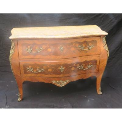 Commode Sauteuse De Style Louis XV