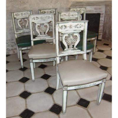 Series Of Six Chairs
