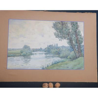 La Meurthe à Lunéville