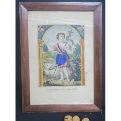 Lithographie De Saint Jean Baptiste