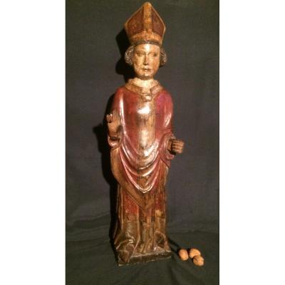 Statue Of A XVIIth Century Bishop