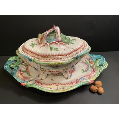 Soup Tureen And Its Dish
