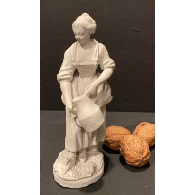 Biscuit, Femme Au Pot