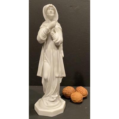 Statuette De Femme, Capodimonte