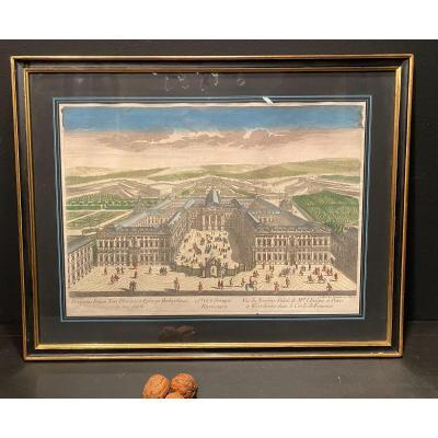 Tableau, Vue d'Optique Du Palais De Wurtzbourg