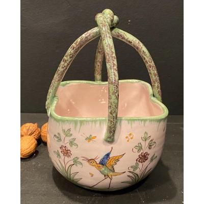 Moutiers Earthenware Basket