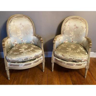 Deux Bérgères Louis XVI