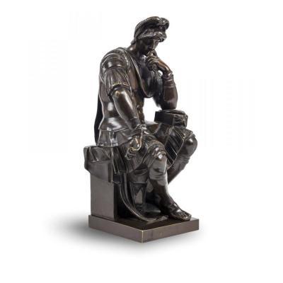 Lorenzo DE MEDICIS - Bronze d'après Michel-Ange