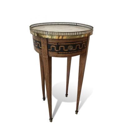 Petite Table Bouillotte d'époque Napoleon III