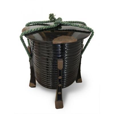 Boite «Hakko Bako» de samuraï - Japon XIXe