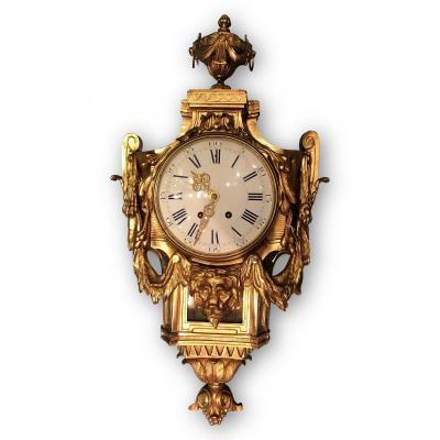 Cartel d'Applique En Bronze - Modèle Delafosse Style Louis XVI