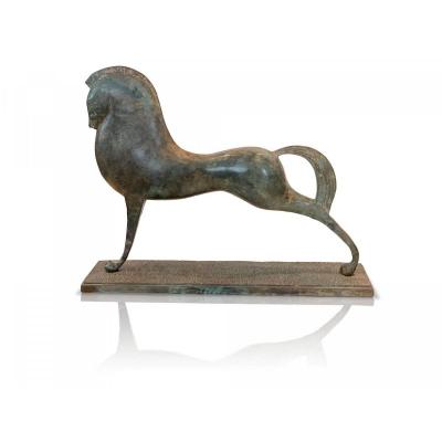 Etruscan Horse In Bronze
