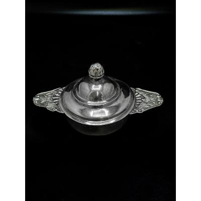 18th Century French Silver Bowl