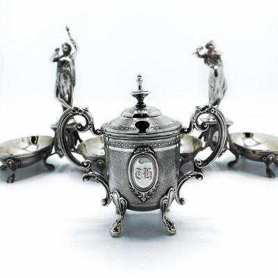 Tableware In French Sterling Silver