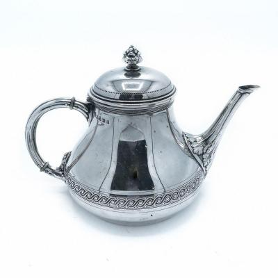 Sterling Silver Teapot By Philippe Wolfers
