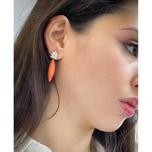 Paire De Pendants D'oreilles à Système Clips