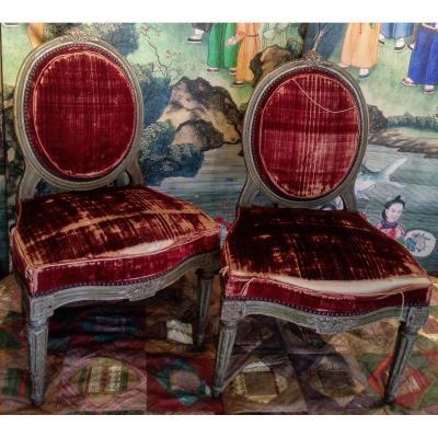 Pair Of Chairs XVIII