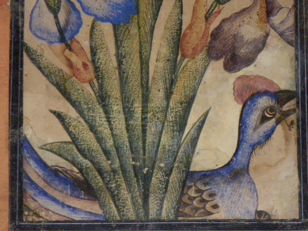 Gouache encadrée Indo-persane XVIIIe-XIXe-photo-2
