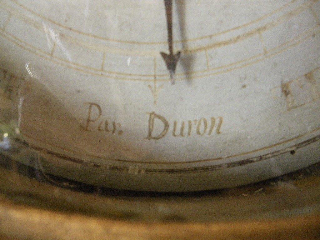 Baromètre d'époque Louis XVI Bois Doré XVIIIe-photo-4