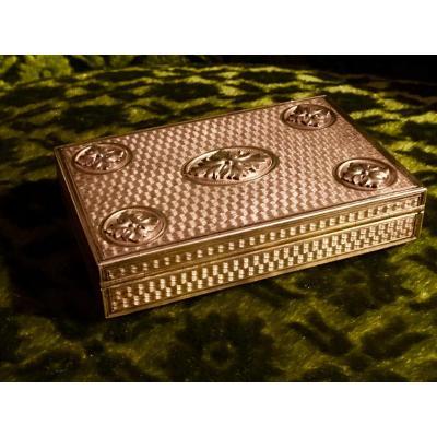 Box Vermeil Louis XVI Style Late Nineteenth