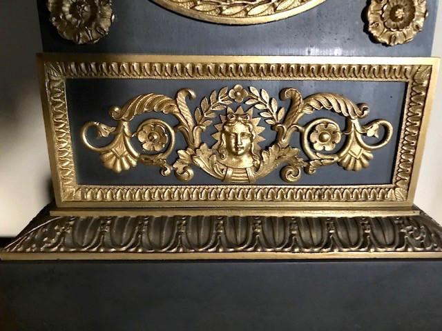 Pendule Empire Signée Lépine Et Pons Début XIXe-photo-3