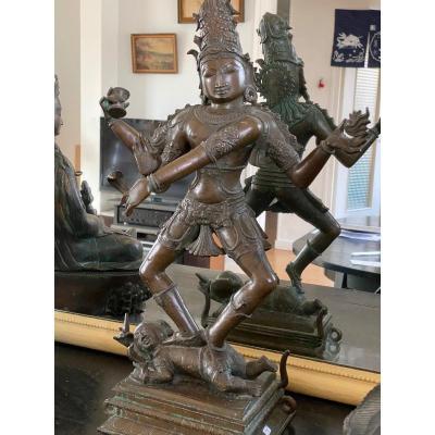 Nataraja, Bronze 47cm, Inde, 19ème