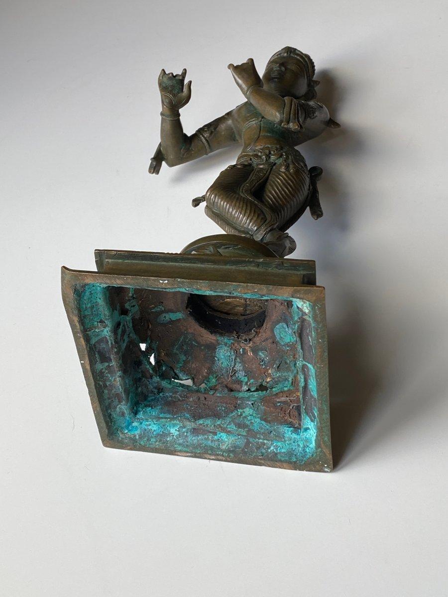 Krishna, bronze, Inde, 19ème-photo-1