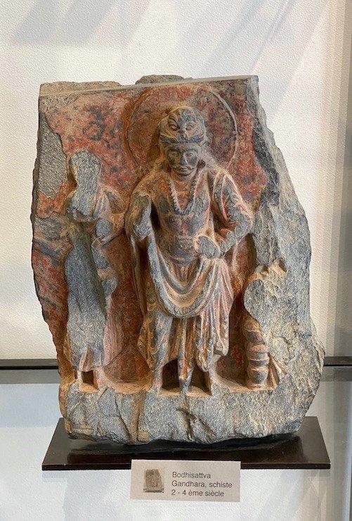 Bodhisattva, Gandhara, 2/4 ème siècle