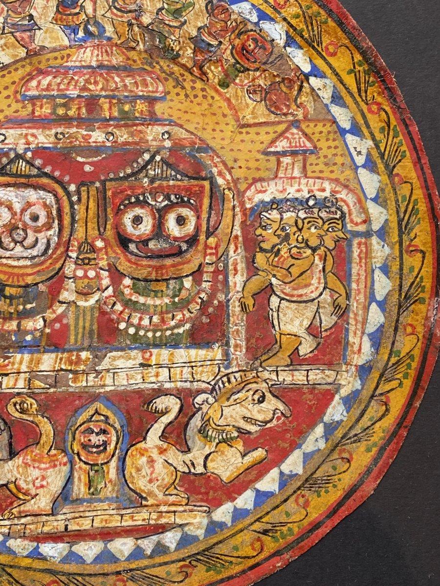 Trinité de Jaganath, Inde, 19ème
