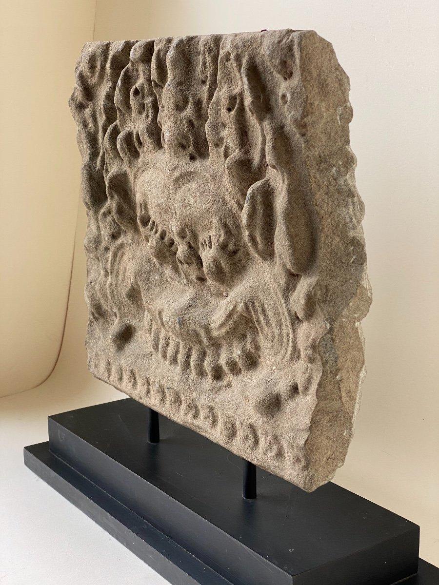 Kirtimuka, Khmer, circa XIV ème-photo-3