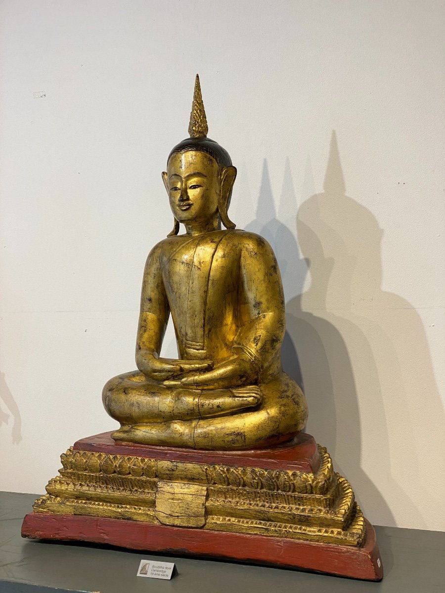 Bouddha, Cambodge, 19ème-photo-2