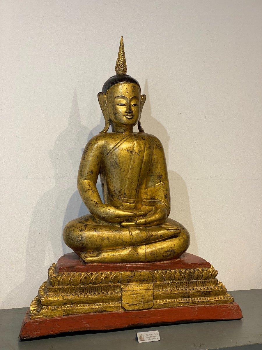 Bouddha, Cambodge, 19ème-photo-3
