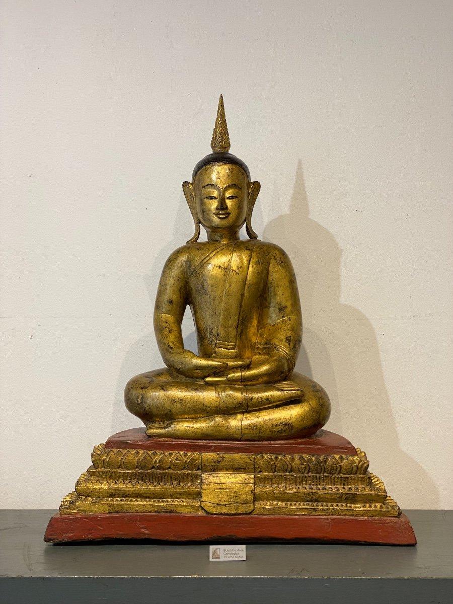 Bouddha, Cambodge, 19ème
