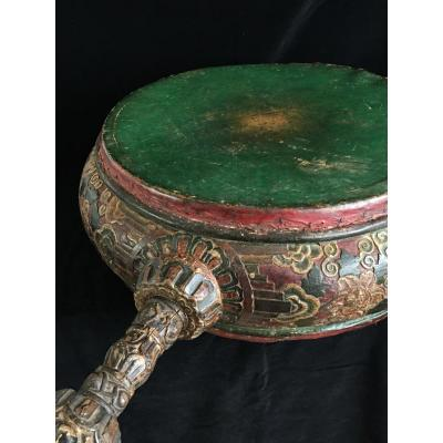 Great Tibetan Monastery Drum