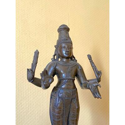 Subrahmanya, Bronze, 40.3 Cm, South India, 18th C.