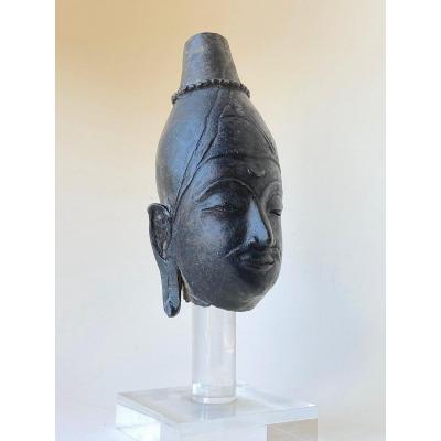 Bronze, Head, Thaïlande, 15th