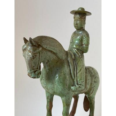 Horsewoman, Sui Period, China