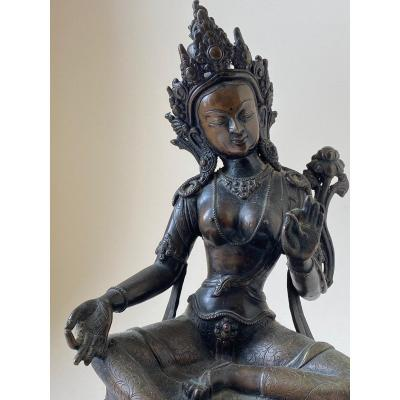 Tara, Bronze, Nepal