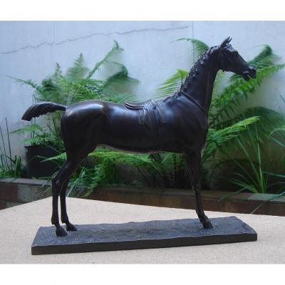 Cheval En Bronze