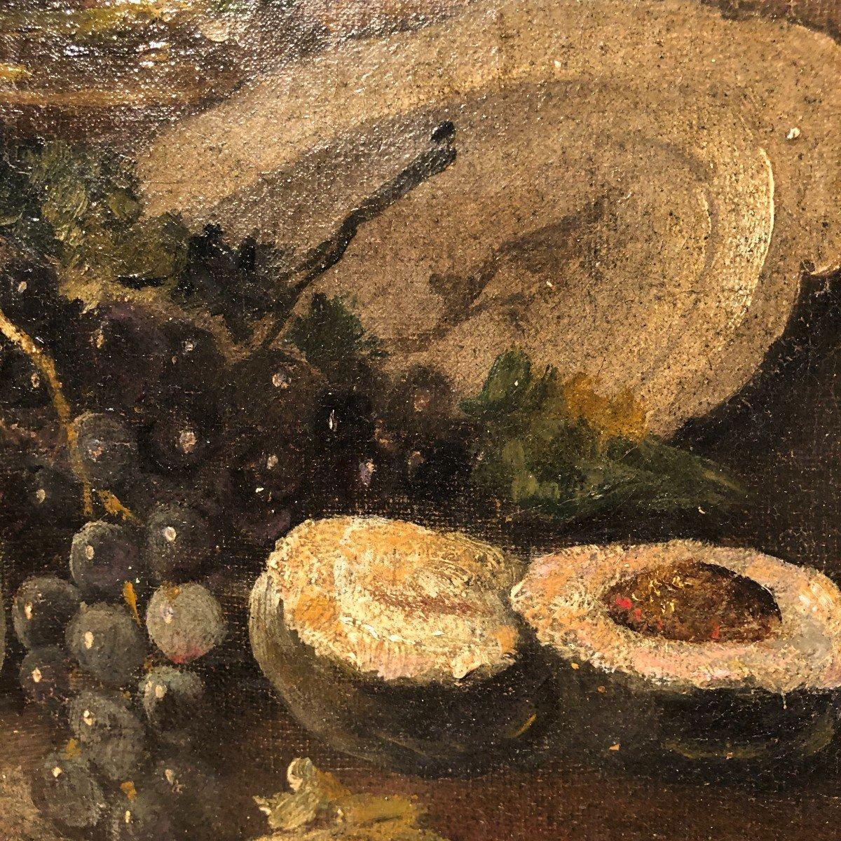 Oil On Canvas 19th Century-photo-1