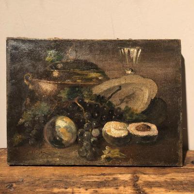 Oil On Canvas 19th Century