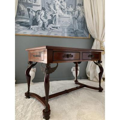 Middle Table, Empire Period.
