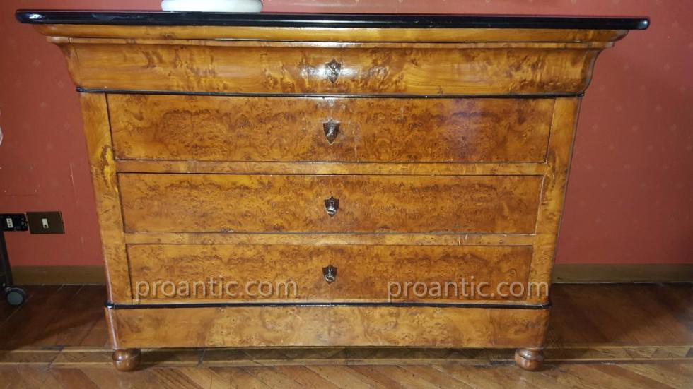 commode louis philippe commodes. Black Bedroom Furniture Sets. Home Design Ideas