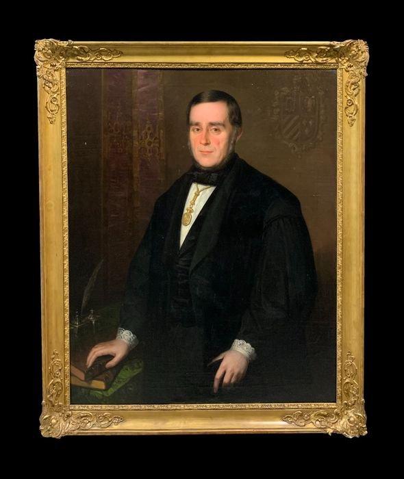 Antonio María Esquivel (1806-1857) - Pedro José Pidal, Director Royal Academy Of History