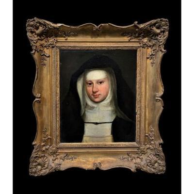 Jean-baptiste Regnault (1754-1829) [attrib.] - A Beautiful Nun