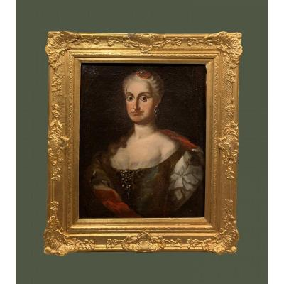 Spanish School (1780s) - María Josefa Carmela, Daughter Of Charles III, Child Of Spain