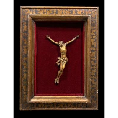 Magnificent Christe In Carved And Gilded Wood - Italy, XVIIIth